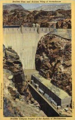 Arizona Wing of Powerhouse - Las Vegas, Nevada NV Postcard