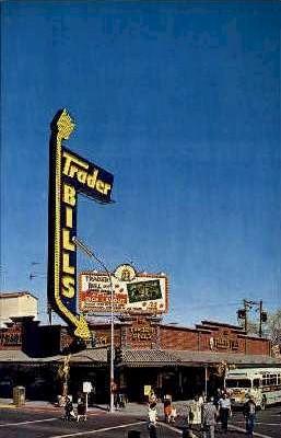 Trader Bill's - Las Vegas, Nevada NV Postcard