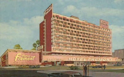 Hotel Fremont - Las Vegas, Nevada NV Postcard
