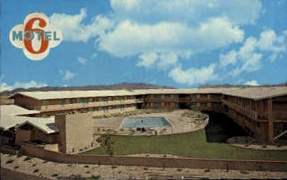 Motel Six - Las Vegas, Nevada NV Postcard