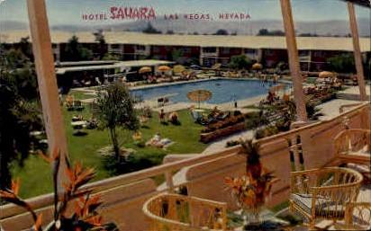 hotel Sahara - Las Vegas, Nevada NV Postcard