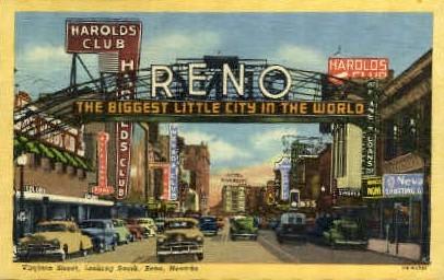 Reno - Nevada NV Postcard