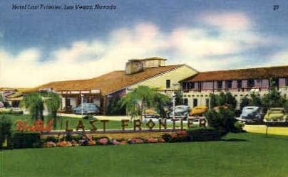 Hotel Last Frontier - Las Vegas, Nevada NV Postcard