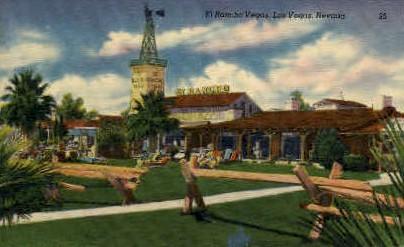 El Rancho Vegas - Las Vegas, Nevada NV Postcard