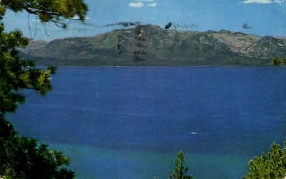 Mt. Tallac - Lake Tahoe, Nevada NV Postcard
