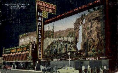 Fabulous Harolds Club - Reno, Nevada NV Postcard