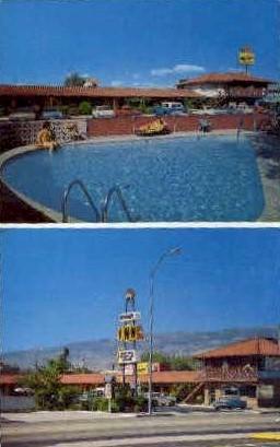 Donner Inn Motel - Reno, Nevada NV Postcard