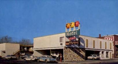 777 Motel - Reno, Nevada NV Postcard