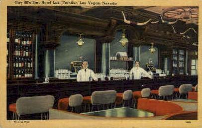 Gay 90's Bar - Las Vegas, Nevada NV Postcard