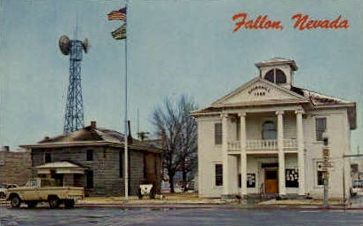 Churchill County Courthouse - Fallon, Nevada NV Postcard