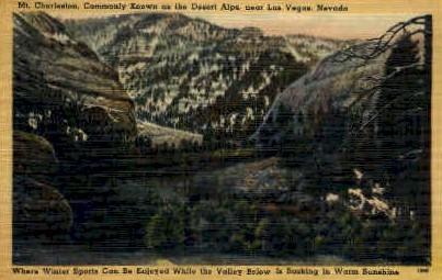 Mt. Charleston - Las Vegas, Nevada NV Postcard
