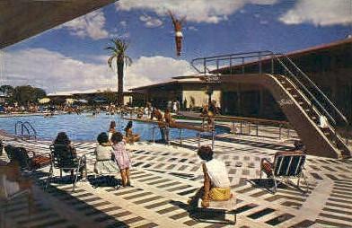 Sands Motel - Las Vegas, Nevada NV Postcard