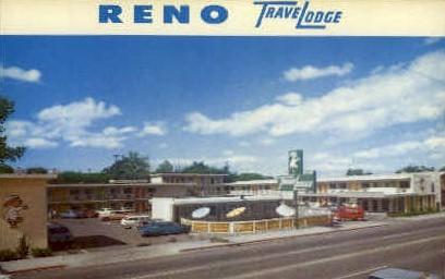 Reno Travelodge - Nevada NV Postcard