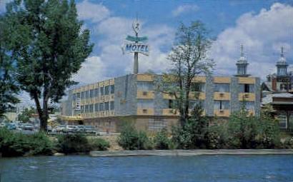 Riviera Motel - Reno, Nevada NV Postcard