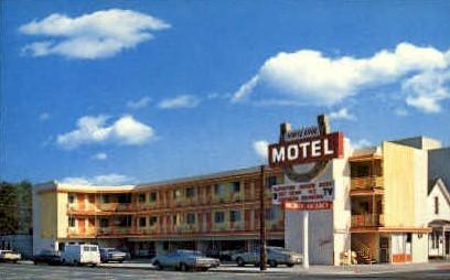 Horseshoe Motel - Reno, Nevada NV Postcard