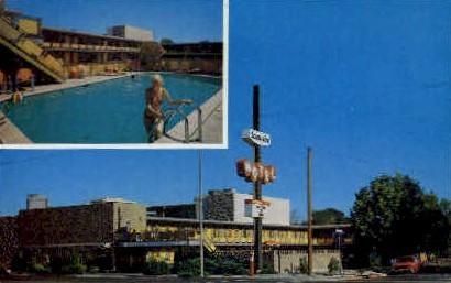 Town Aire Motel - Reno, Nevada NV Postcard