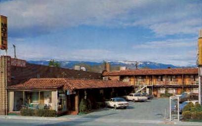 Ho Hum Motel - Reno, Nevada NV Postcard
