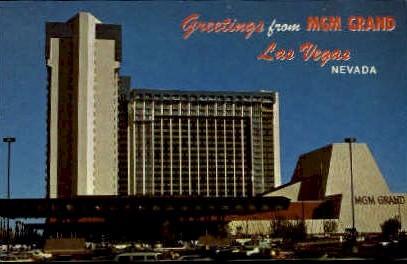 MGM Grand   - Las Vegas, Nevada NV Postcard