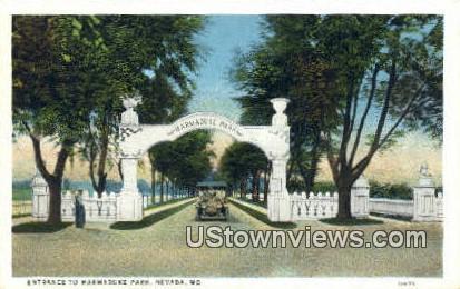 Marmaduke Park, NV,     ;     Marmaduke Park, Nevada Postcard