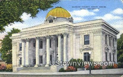 Washoe County Court House - Reno, Nevada NV Postcard