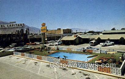 El Captain Motor Lodge & Casino - Hawthorne, Nevada NV Postcard