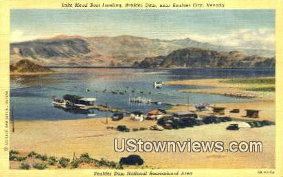 Lake Mead - Boulder City, Nevada NV Postcard