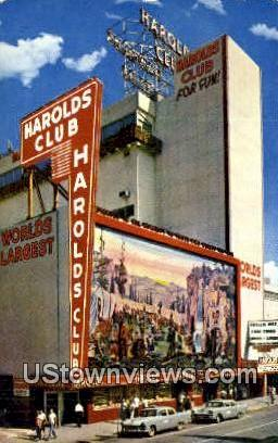 Harolds Club - Reno, Nevada NV Postcard