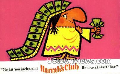 Harrah's - Reno, Nevada NV Postcard