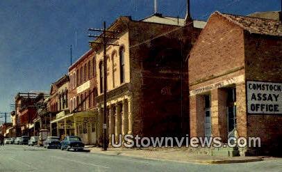 Assay Office - Virginia City, Nevada NV Postcard