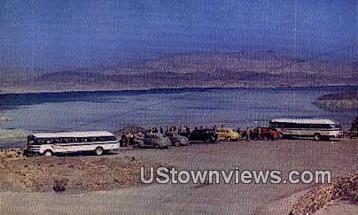 Lakeview Point - Hoover (Boulder) Dam, Nevada NV Postcard
