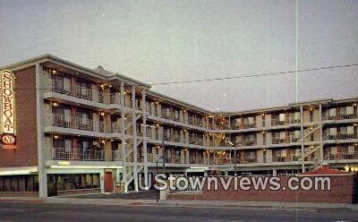 Showboat Inn - Reno, Nevada NV Postcard