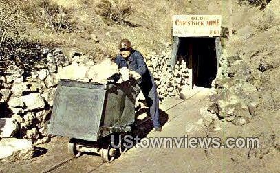 Occidental Mine - Virginia City, Nevada NV Postcard