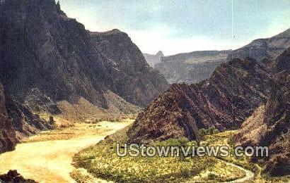 Colorado River - Grand Canyon, Nevada NV Postcard