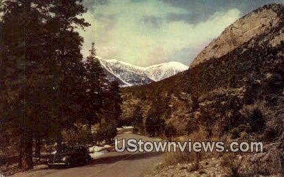 Mt. Charleston, Nevada,     ;     Mt. Charleston, NV Postcard