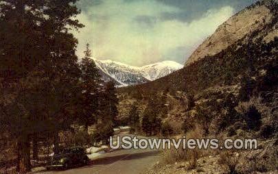 Mt. Charleston, NV,     ;     Mt. Charleston, Nevada Postcard