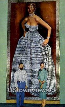 Silver Queen - Virginia City, Nevada NV Postcard