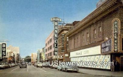 Center Street - Reno, Nevada NV Postcard