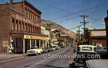 Ghost Town - Virginia City, Nevada NV Postcard