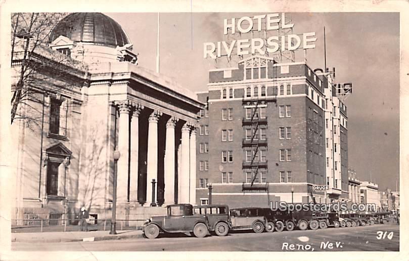 Hotel Riverside - Reno, Nevada NV Postcard