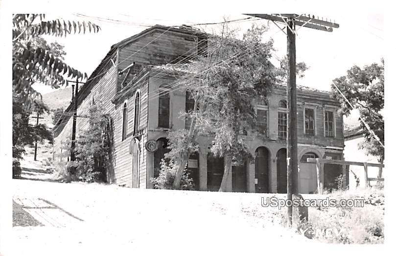 Pipers Opera House - Virginia City, Nevada NV Postcard