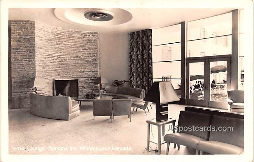 Lounge - Winnemucca, Nevada NV Postcard