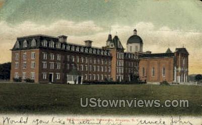 St. Bonaventure's Monastery - Allegany, New York NY Postcard