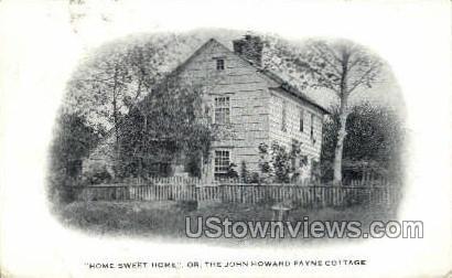 John Howard Payne Cottage - Misc, New York NY Postcard