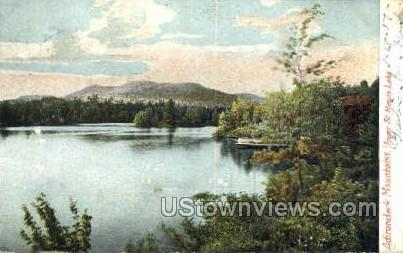 St. Regis Lake - Adirondack Mts, New York NY Postcard