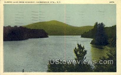 Tupper Lake - Adirondack Mts, New York NY Postcard