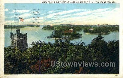 Boldt Castle - Alexandria Bay, New York NY Postcard