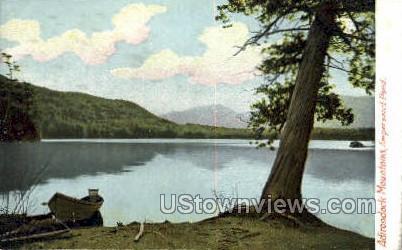 Ampersand Pond - Adirondack Mts, New York NY Postcard