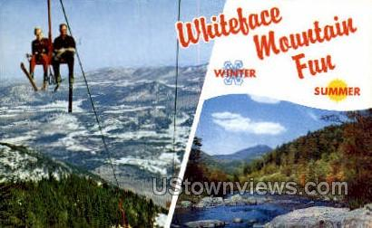 Whiteface Mountain - Adirondack Mts, New York NY Postcard