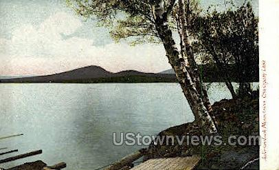 Chataguay Lake - Adirondack Mts, New York NY Postcard
