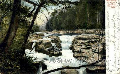 Big Falls, Wilimington Notch - Adirondack Mts, New York NY Postcard